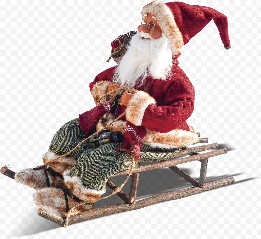 Santa Claus - Village Reindeer U6df1u5733u4e07u8c61u57ce Christmas - No - Riding A Sleigh Free PNG