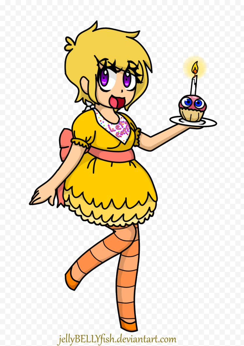 Yellow - Piper Five Nights At Freddy's 2 Drawing Cappy Art - Jump Scare - Feelings Free PNG