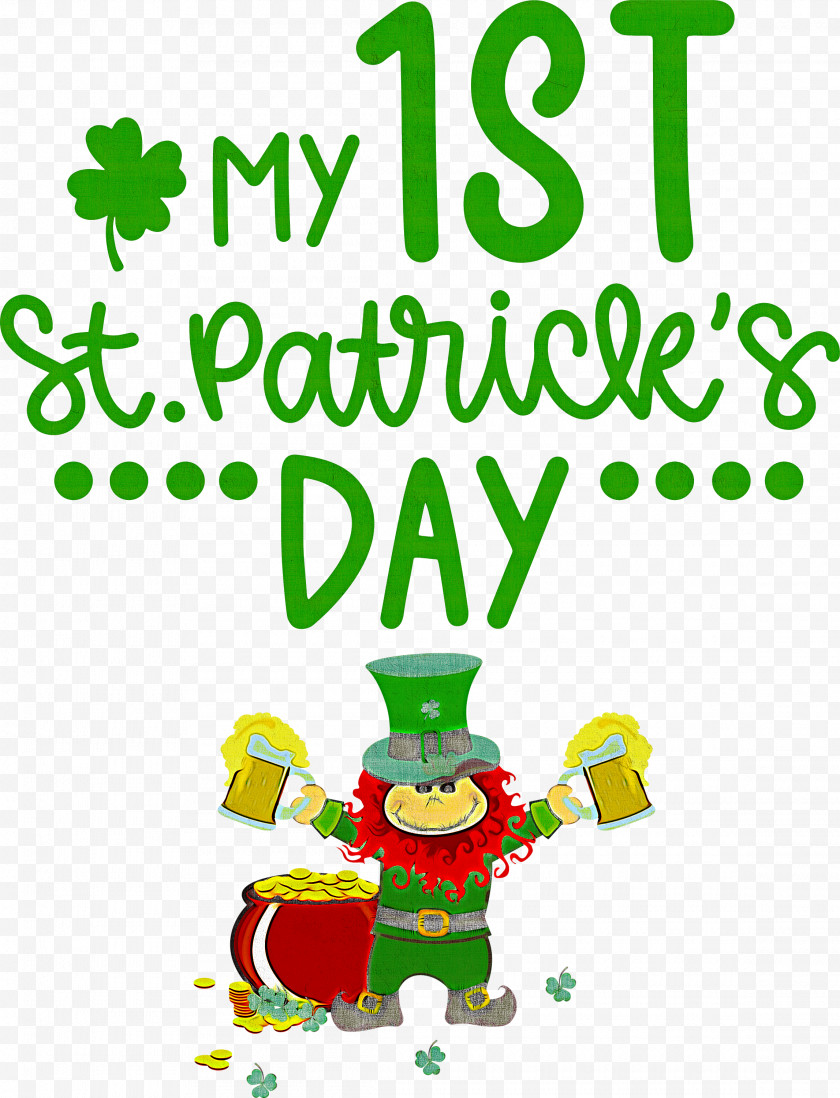 My 1st Patricks Day Saint Patrick Free PNG