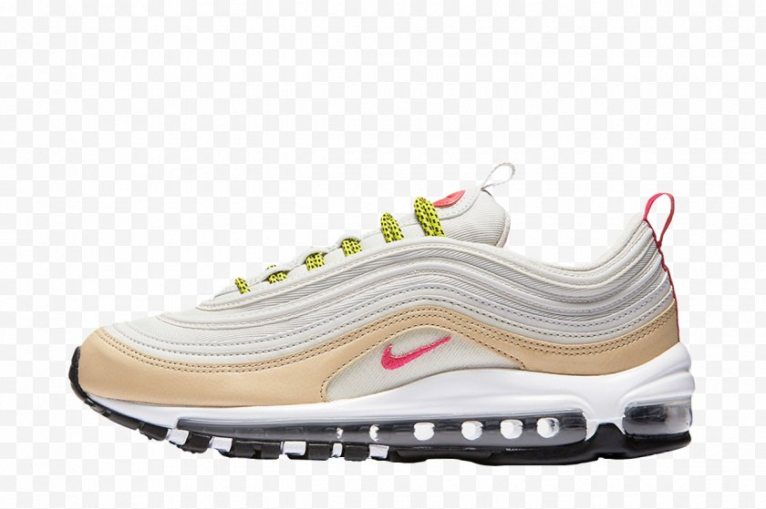 White - Nike Air Max 97 Sneakers Shoe Opruiming - Brand Free PNG