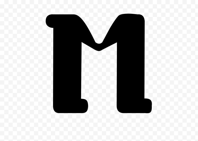 Symbol - Logo Line Angle Font - Black Free PNG