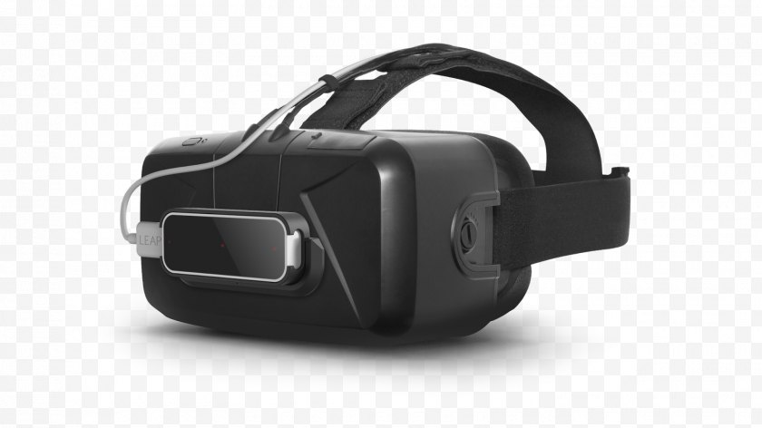 Headset - Oculus Rift Virtual Reality Open Source Head-mounted Display Leap Motion - Controller - VR Free PNG