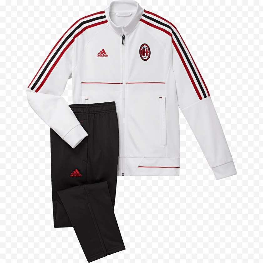 Jersey - Tracksuit A.C. Milan Adidas Superstar Child - Yeezy Free PNG