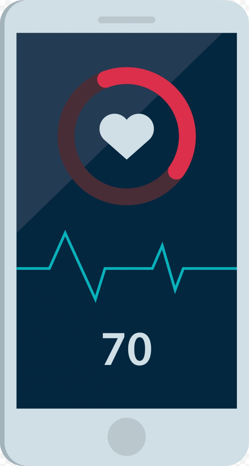 Brand - Heart Rate Electrocardiography - Symbol - Smartphone Heartbeat Test Free PNG