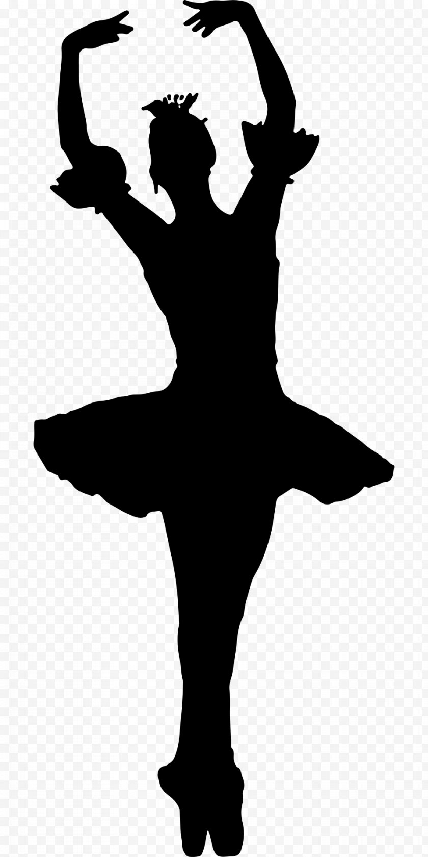 Heart - Ballet Dancer Silhouette - Watercolor Free PNG