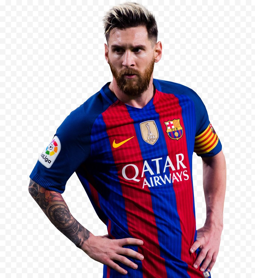 Team Sport - Lionel Messi FC Barcelona Argentina National Football UEFA Champions League - Outerwear Free PNG