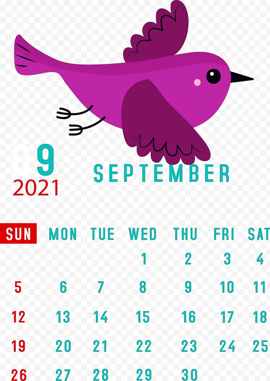 September 2021 Printable Calendar September 2021 Calendar Free PNG
