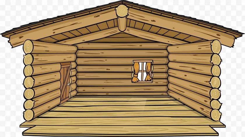 Hut - Club Penguin Log Cabin Cartoon Igloo Clip Art - Wiki Free PNG