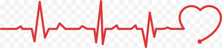 Silhouette - Heart Rate Electrocardiography Pulse Find&Save - Watercolor - Public Welfare Heartbeat Line Free PNG