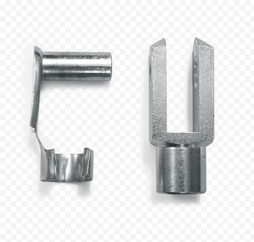 Joint - Rod End Bearing Clevis Fastener Steel Trazione Load Cell - Stainless - Installation Drawing Free PNG
