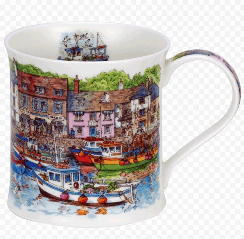 Jan Constantine - Coffee Cup Mug Dunoon Bone China White Free PNG