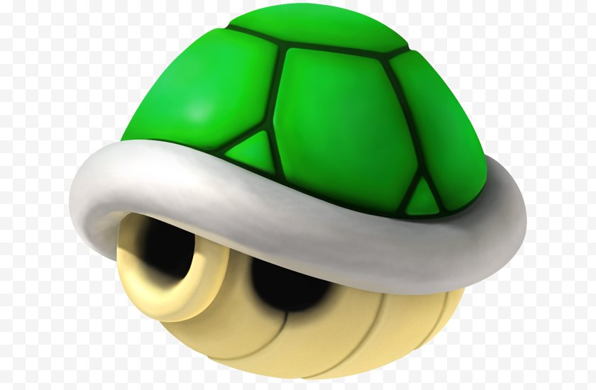 Powerup - Mario Kart Wii 8 Bros. Super 7 - Green Free PNG