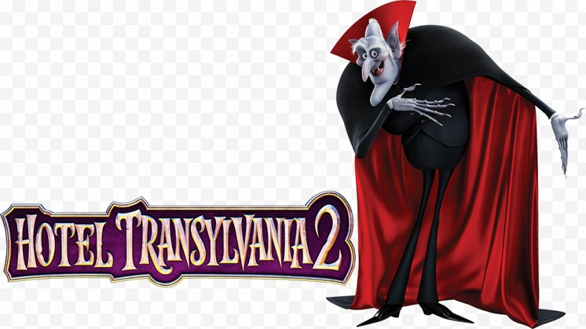 Hotel Transylvania Series - Film Poster Count Dracula - Sony Pictures Animation - 2 Free PNG