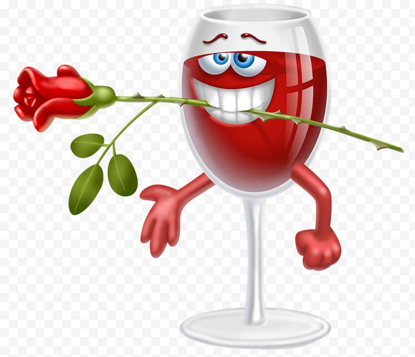 Photography - Wine Emoticon Smiley Clip Art Free PNG