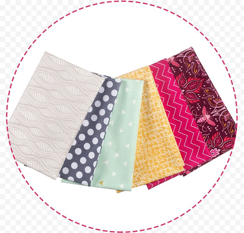 Place Mats - Textile Valentine's Day - Sewing Supplies Free PNG