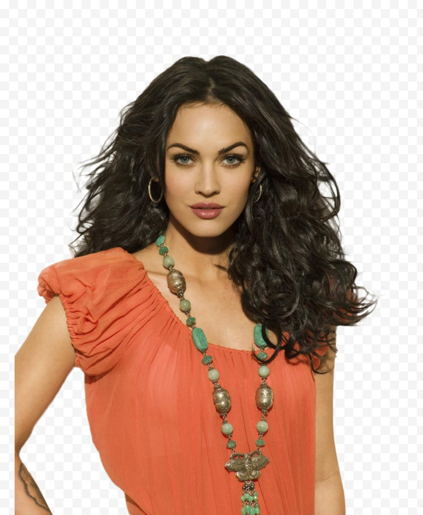 Celebrity - Megan Fox Hollywood Transformers Actor Photography - Hairstyle Free PNG