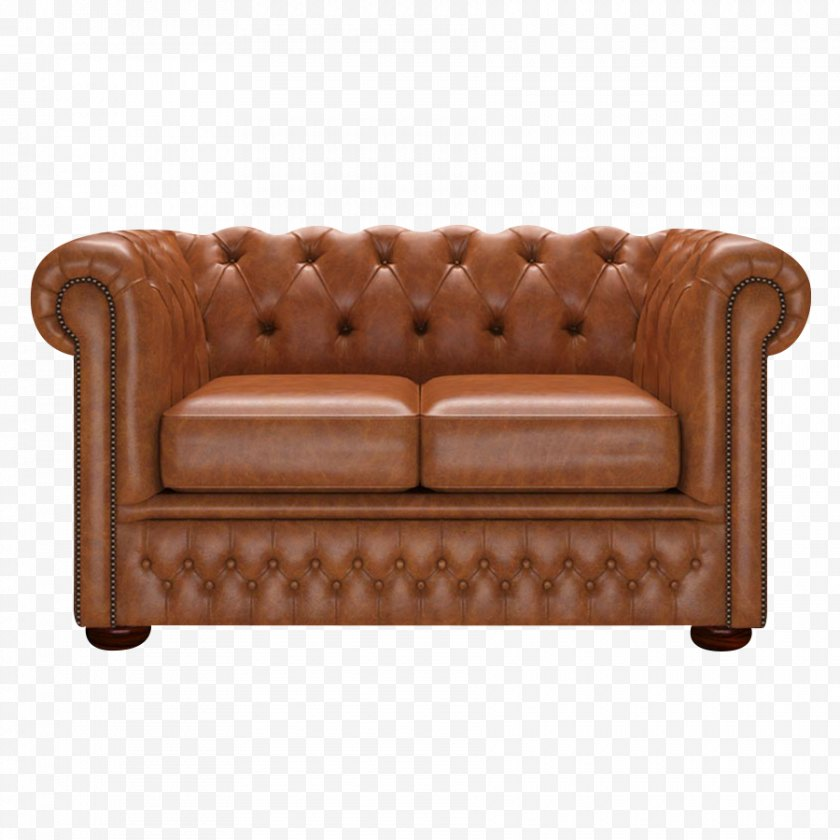 Pillow - Loveseat Couch Furniture Club Chair - Chesterfield Free PNG