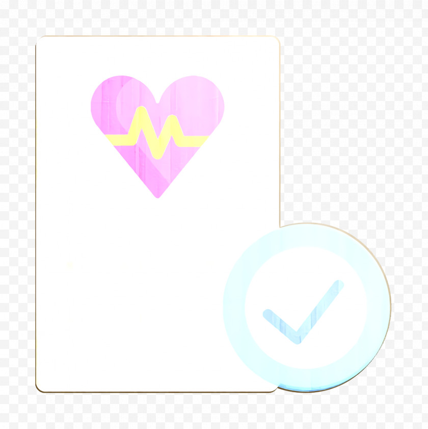 Medical Check Icon Heartbeat Icon Job Resume Icon Free PNG