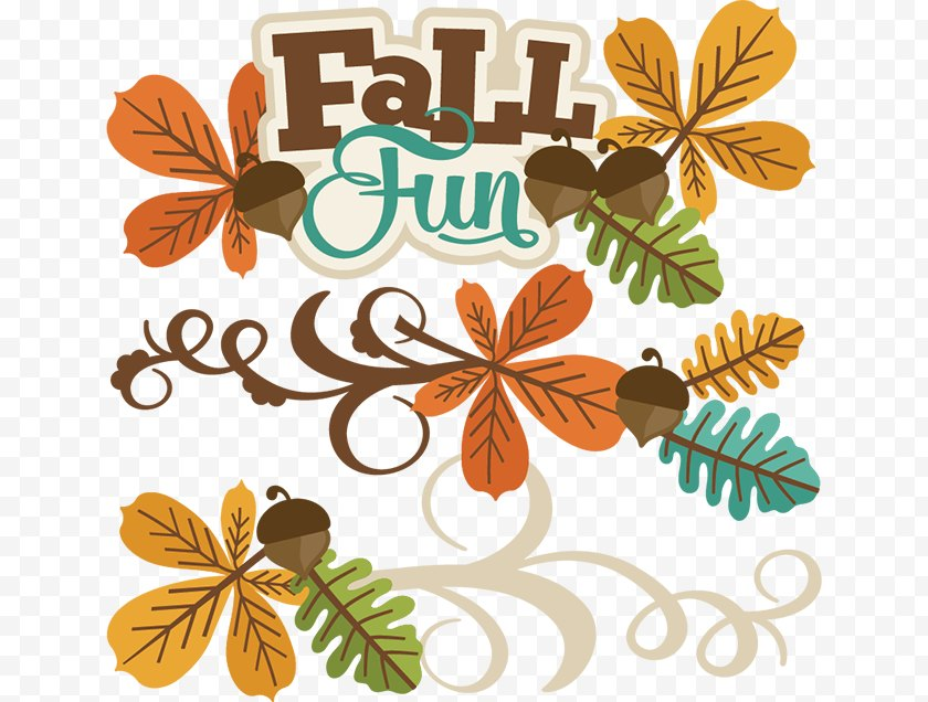 Autumn Leaf Color - Paper Child Digital Scrapbooking Clip Art - Fall Activities Cliparts Free PNG