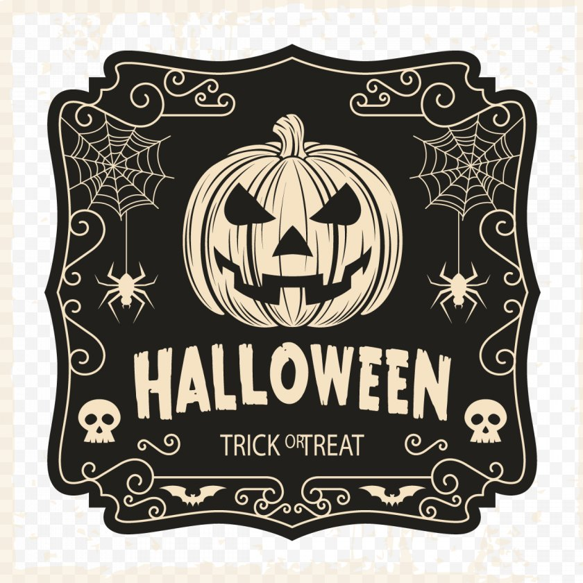 Halloween Film Series - Costume Trick-or-treating T-shirt - Michael Myers - Hand-painted Background Vector Free PNG