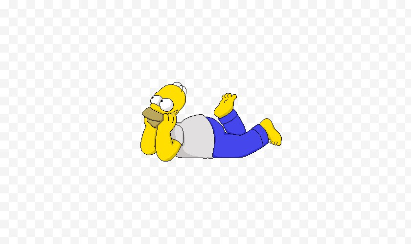 Material - Homer Simpson Milhouse Van Houten Bart Marge - Fictional Character Free PNG