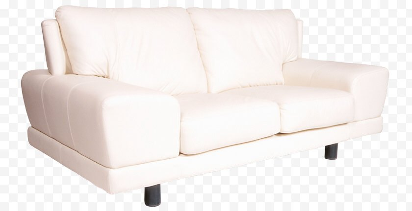 Fauteuil - Couch Cushion White Furniture - Foot Rests - Chair Free PNG