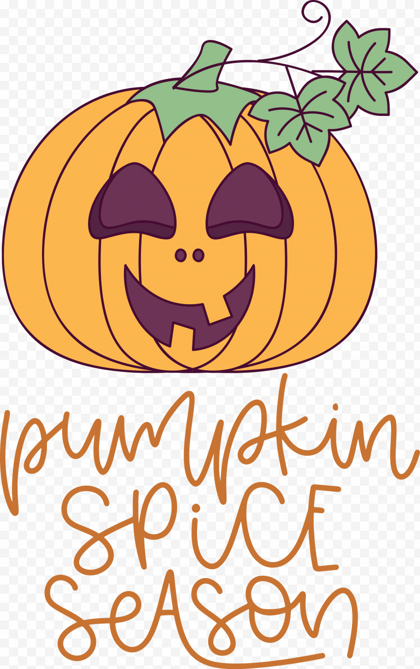 Autumn Pumpkin Spice Season Pumpkin Free PNG