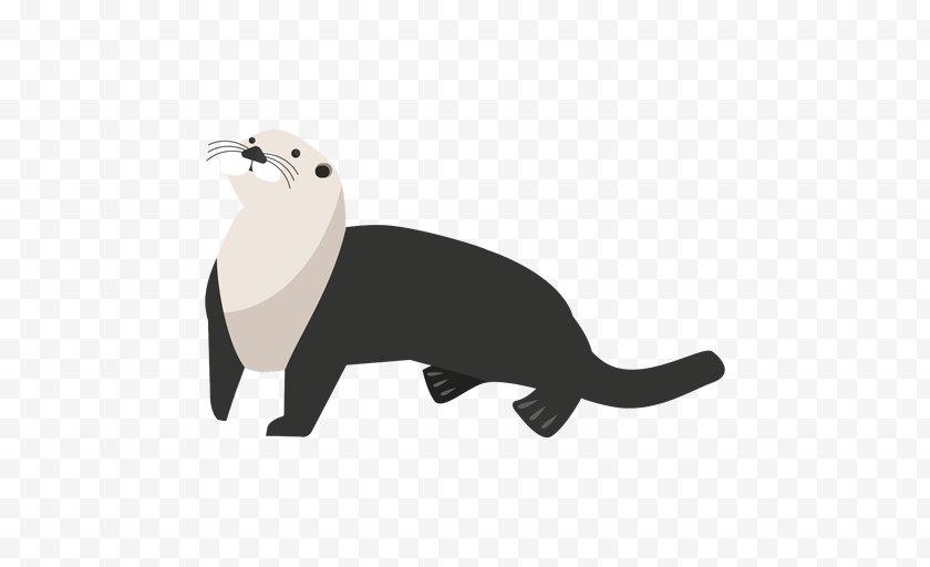 Ferret - California Sea Lion Cartoon Mustelidae Mustelinae - Otter Free PNG