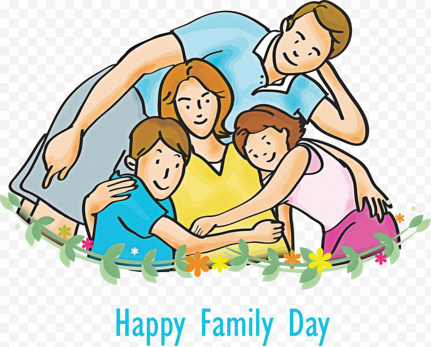Family Day Happy Family Day Family Free PNG