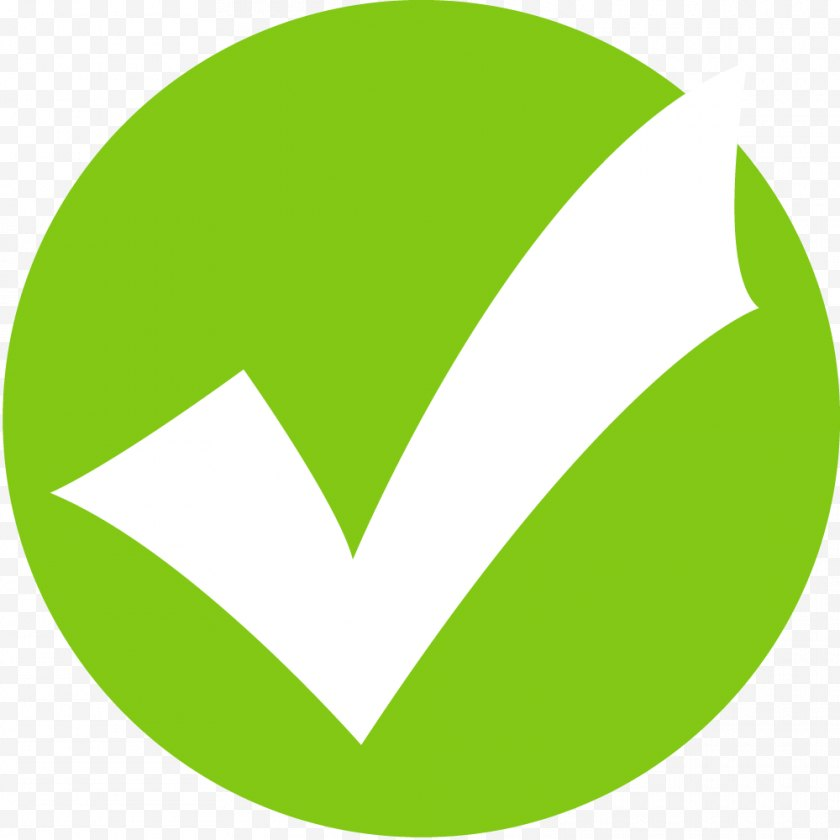 Check Mark - Checkbox Resort - Hotel - Green Tick Icon Free PNG