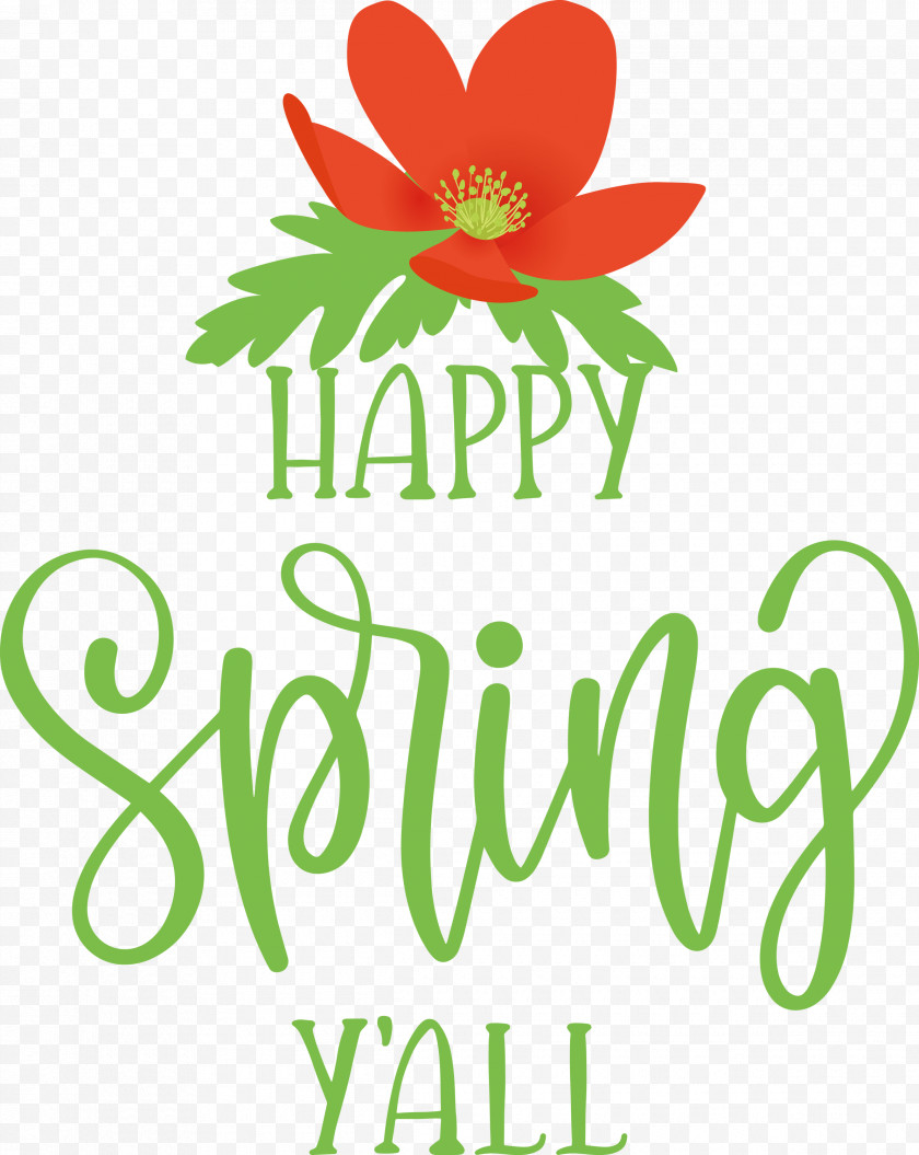 Happy Spring Spring Free PNG