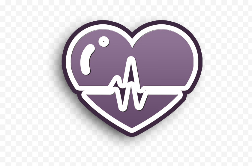 Heartbeat Icon Medical Icons Icon Heart Beats Lifeline In A Heart Icon Free PNG