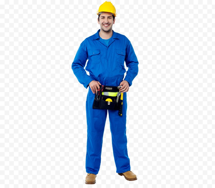 Standing - Stock Photography Plumber Plumbing - Hard Hat - Blue Collar Worker Free PNG