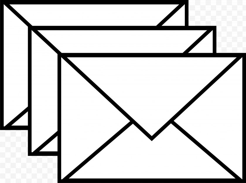 Envelope - Airmail Clip Art - Cool Email Cliparts Free PNG