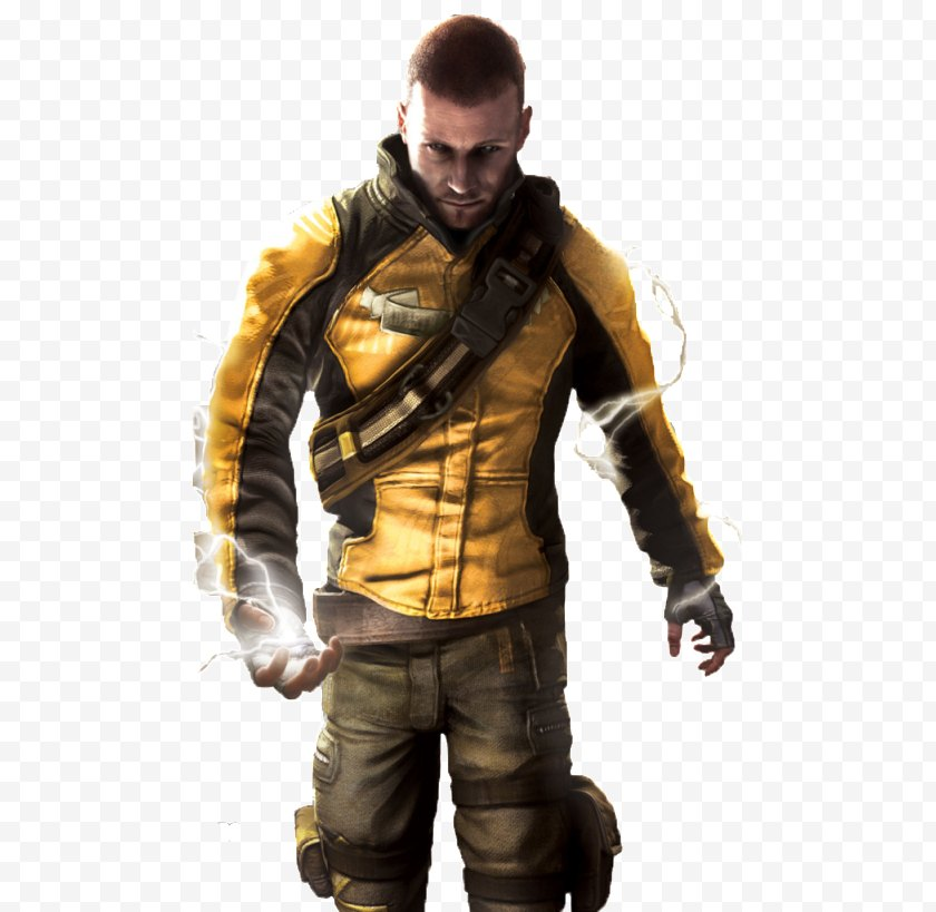 Infamous - Cole Macgrath - Second Son 2 Street Fighter X Tekken PlayStation All-Stars Battle Royale - Leather Free PNG