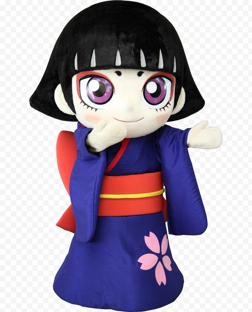 Figurine - Sakura Kamagaya カムロちゃん Yuru-chara Character - Doll - Kumamon Free PNG