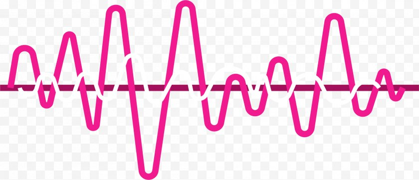 Heart Rate - Frequency Sound Icon - Lip - Heartbeat Line Free PNG