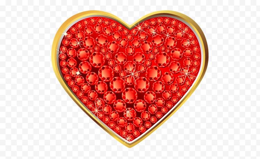 Thumbnail - Heart Clip Art - Fruit - A Pair Of Rings Free PNG