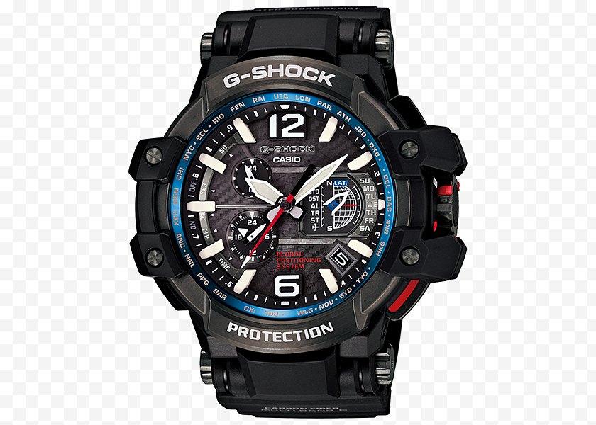 Gps Watch - Master Of G G-Shock GPW-1000 Casio - Shock Free PNG