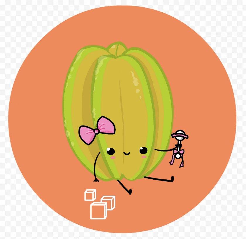 Smile - Pumpkin Apple Character Clip Art - Vegetable - Carambola Free PNG