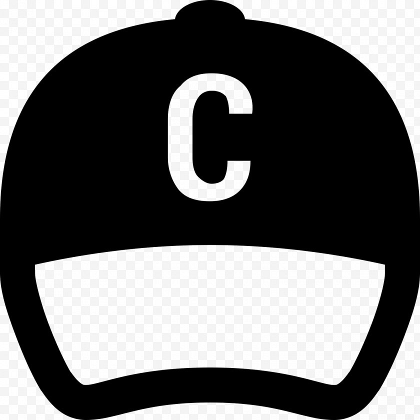 Hat - Baseball Cap Square Academic Headgear - Black And White Free PNG