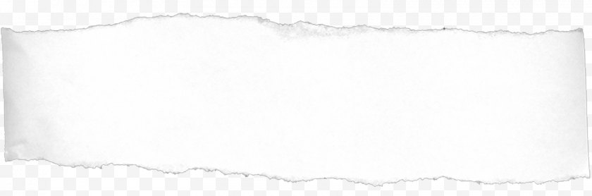 White - Black Rectangle - Torn Paper Free PNG