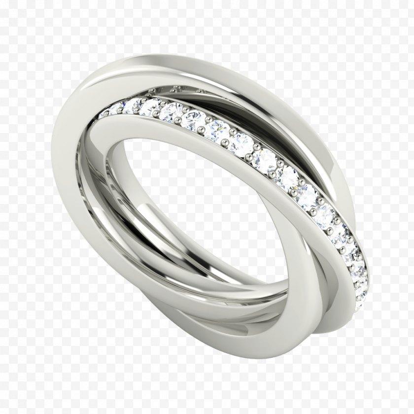 Wedding Ring - Russian Engagement Gold - Interlocking Rings Free PNG