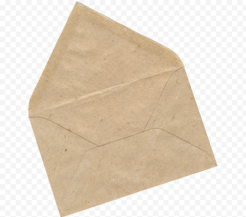 Envelope - Paper Stationery Brown Stock Photography Free PNG