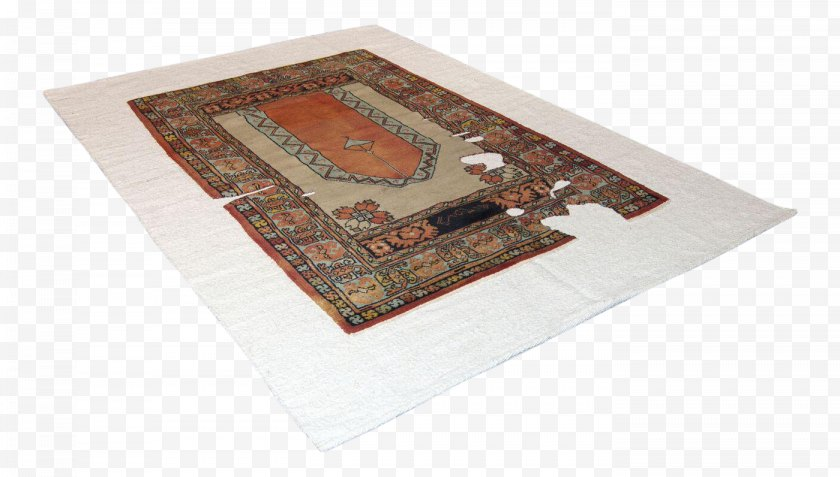 Sarreid Limited - Knotted-pile Carpet Tufting Place Mats Anatolian Rug - Placemat Free PNG