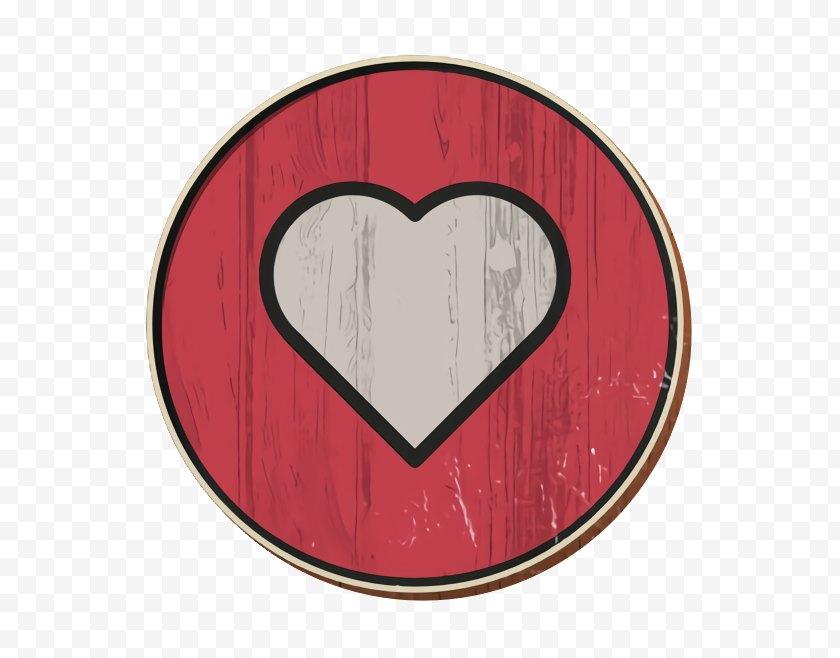 Heart Icon - Emoji Facebook - Symbol Pink Free PNG