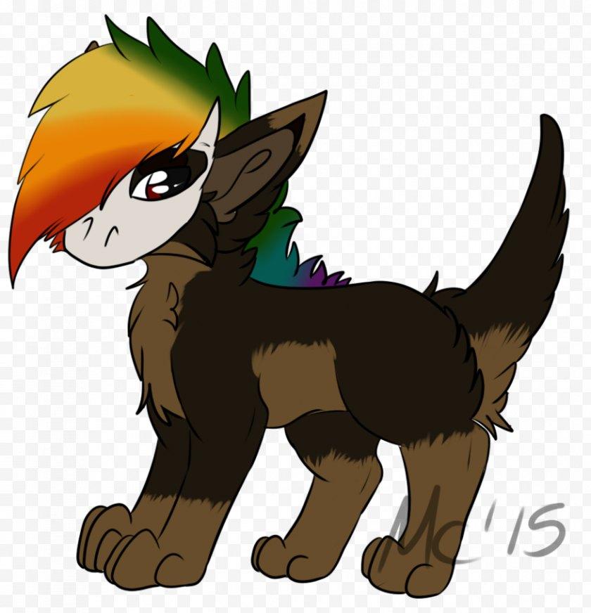 Fictional Character - Cat Dog Horse Legendary Creature Clip Art - Pony Free PNG