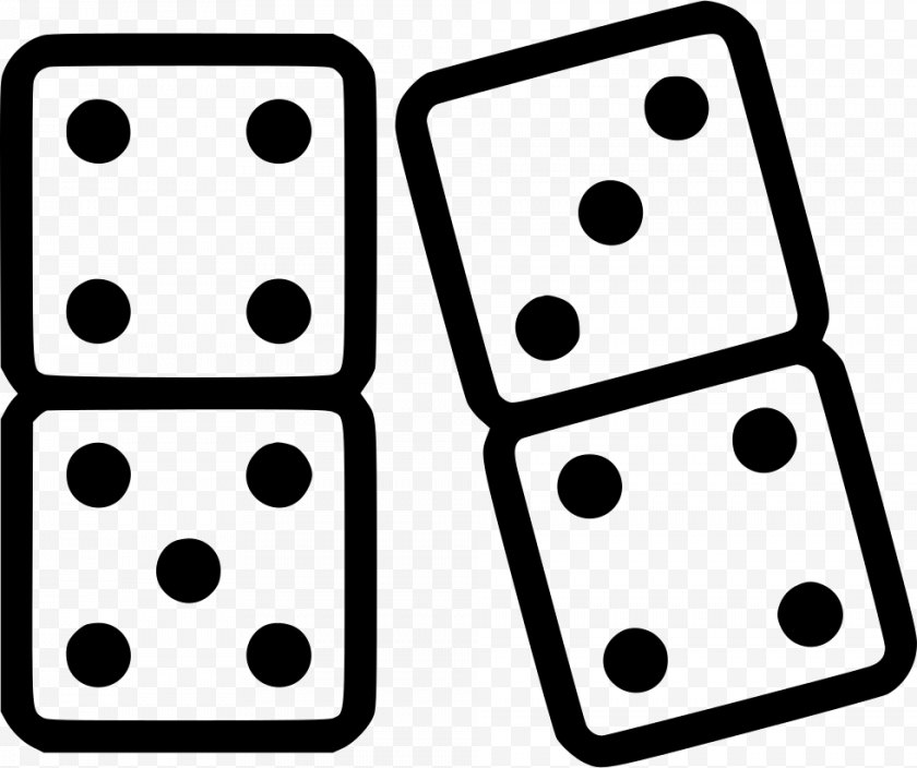 Recreation - Dominoes - Dice Game Free PNG