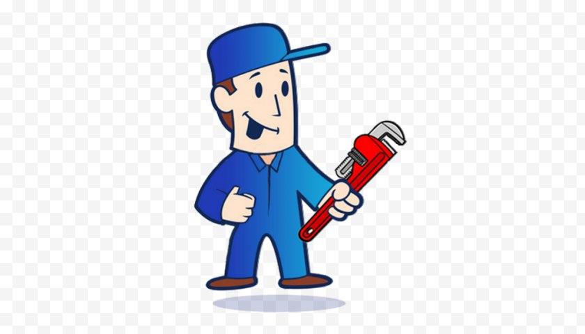 Plunger - Leak - Mr Plumber Singapore Plumbing Home Repair Handyman - Fictional Character Free PNG