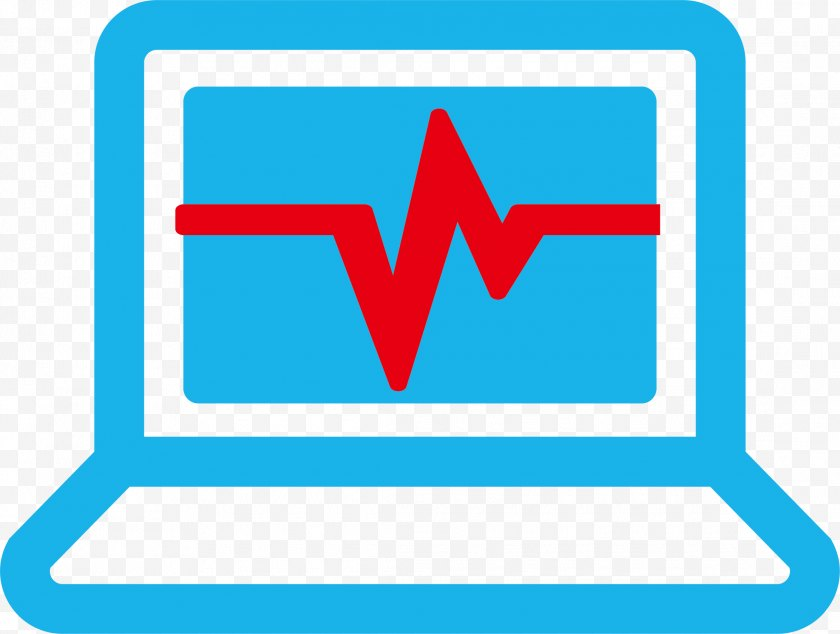 Signage - Computer Download Medicine Clip Art - Sign - Heartbeat Free PNG